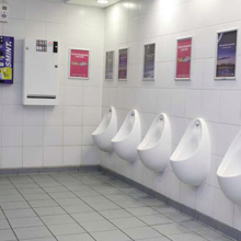 DUBLIN AIRPORT LADIES & GENTS TOILETS